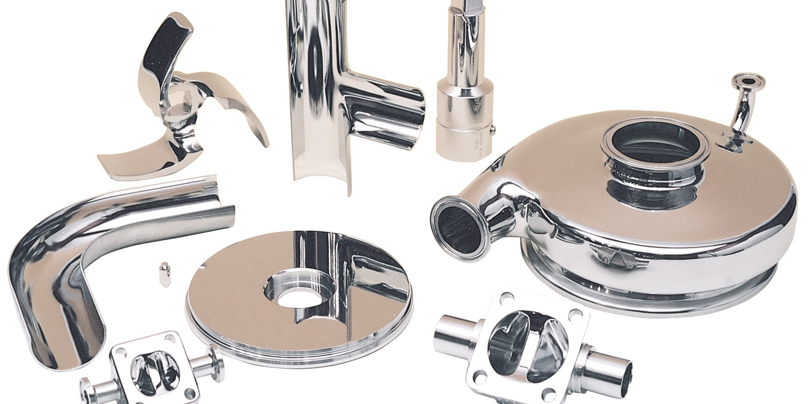 items that have been electropolished.
